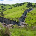 7.8 Magnitude Earthquake Created 15ft High Great Wall of New Zealand