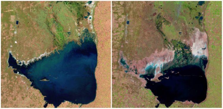 Mar Chiquita Lake, Argentina. July, 1998. — September, 2011.