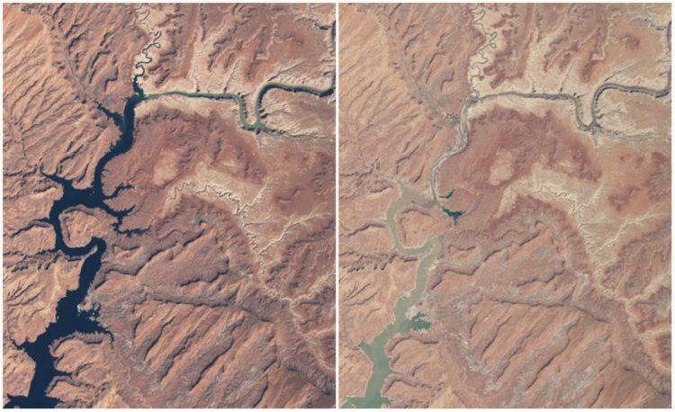 Powell Lake, Arizona and Utah. March, 1999 — May, 2014.