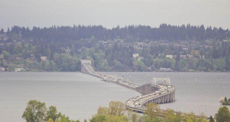 Evergreen Point Floating Bridge. Photo credit Atomic Taco at Flickr