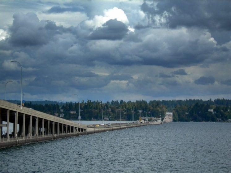Evergreen Point Floating Bridge. Photo credit Peter Svensk @ Flickr