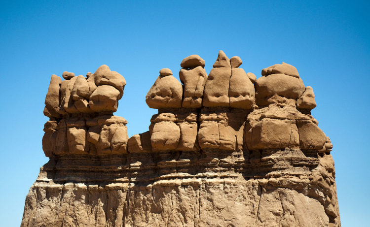 Though Goblin Valley is a wonderful place to hike around and ogle at the goblins, however, take care to leave no trace and respect the space!