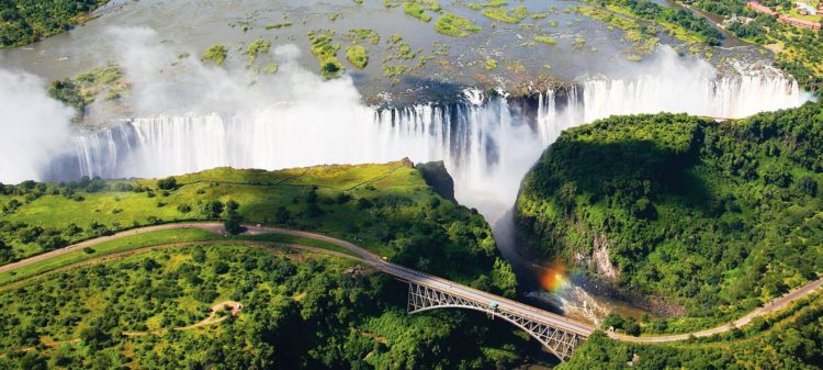 """CNN has been described as one of the Seven Natural Wonders of the world. The Victoria Falls also known as """"The Smoke That Thunders"""" continues in common usage as well."""