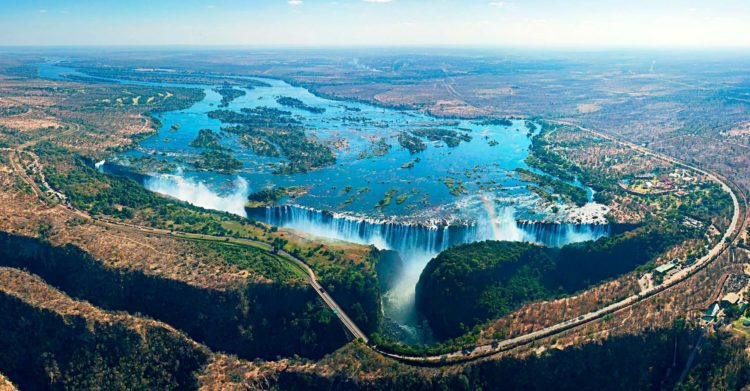 The legendary waterfall is among the most impressive & awe-inspiring to be found anywhere on the planet earth.