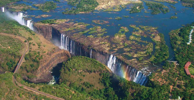 Victoria Falls has more Zimbabwean and Zambian visitors than international tourists; the attraction is accessible by bus and train, and is therefore comparatively inexpensive to reach.