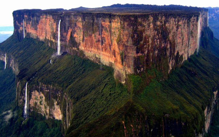 Although the steep sides of the plateau make it difficult to access, it was the first recorded major tepui to be climbed: Sir Everard im Thurn walked up a forested ramp in December 1884 to scale the plateau.