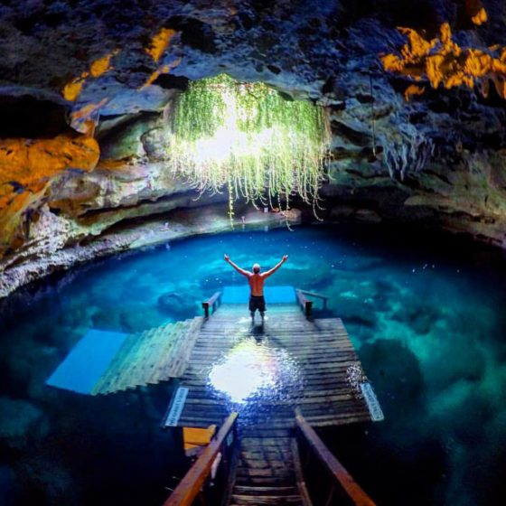 The Devil's Den is an awesome place that people have been using for thousands of years, as evidence by the many artifacts and fossils that have been found there.