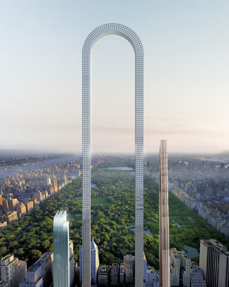This is The Big Bend, a revolutionary curved skyscraper to be built on New York City's 57th Street