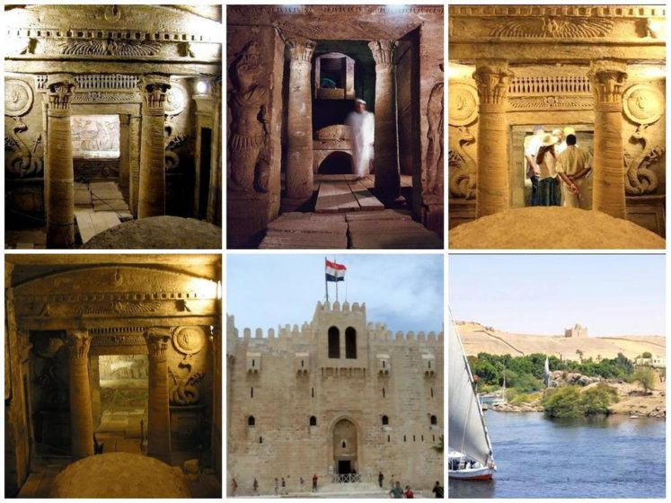 This is the most impressive of Alexandria's ancient remains, dating from the 2nd century AD.