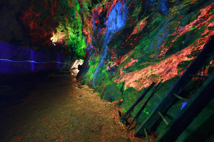In New Jersey, The Sterling Hill Mining Museum is famous for its variety of immersive and educational exhibits, and massive collection of fluorescent minerals.