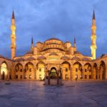 The Sultan Ahmad Mosque, Istanbul Turkey