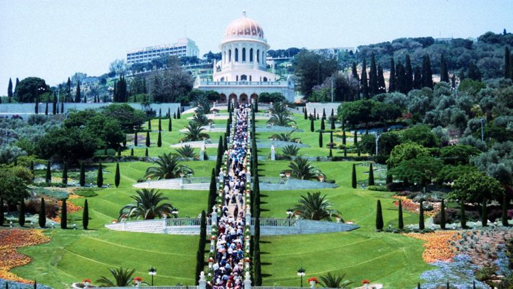 As the Bahá'í religion and temples all around the world are open for every single person, no matter the religion and skin color that person has, this attractive site is one of the most peaceful ones in the world.