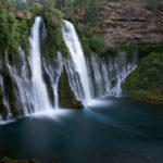 The Burney Falls, California