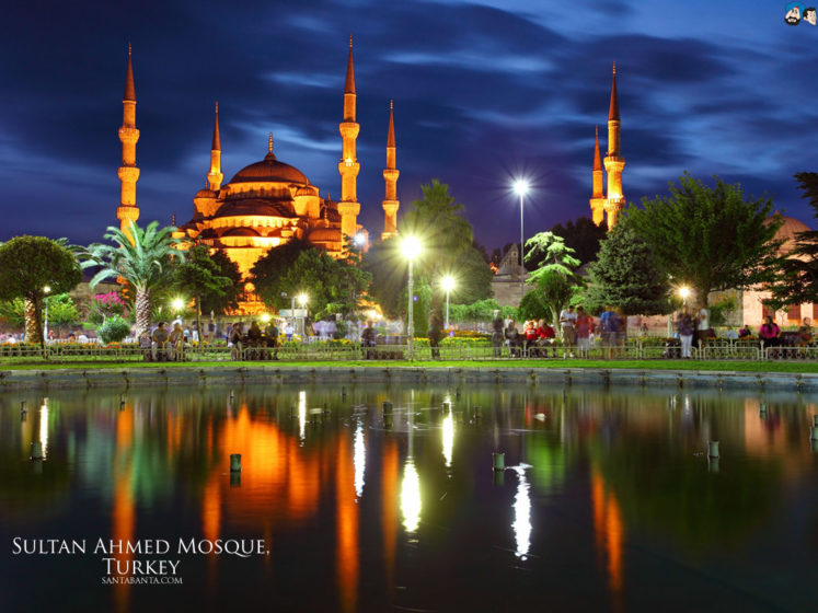 It is also called Sultan Ahmet Mosque or Sultan Ahmet Camii in Turkish is popularly known was constructed between 1609 and 1616 during the rule of Ahmed I.
