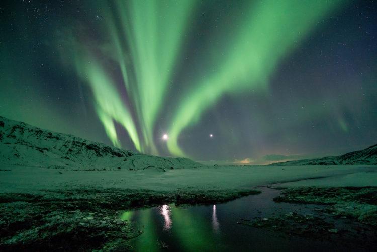 The northern lights Thórsmörk Photo Jonatan Pie