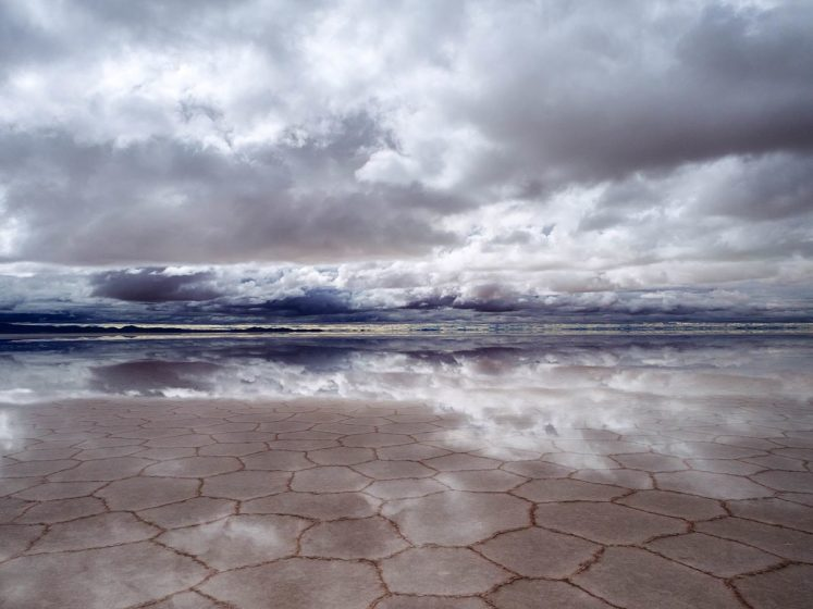 The South America salt flats in Bolivia are a natural wonder that are not only awe-inspiring, but also seem to be the best place to play with perspective.