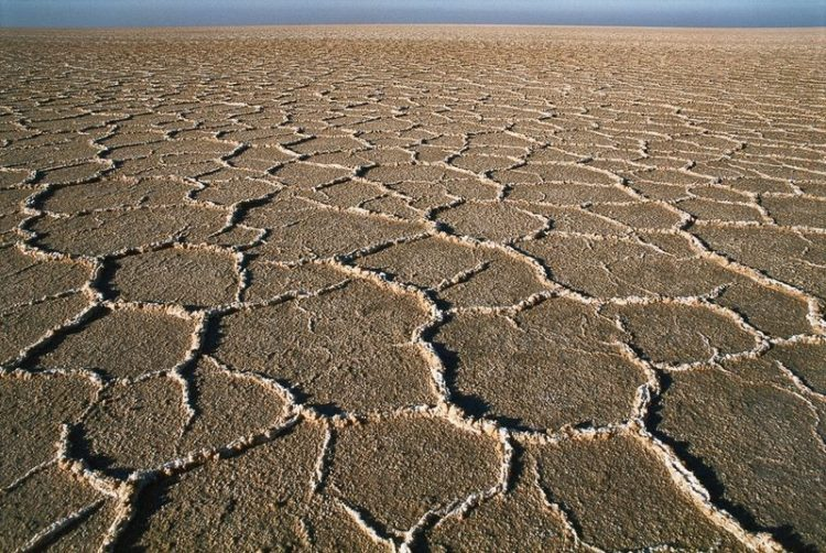 """Dasht-e Kavir, is also known as """"Kavir-e Namak"""" and """"Great Salt Desert"""", is a large desert lying in the middle of the Iranian plateau, around 300 kilometers east-southeast of Tehran."""
