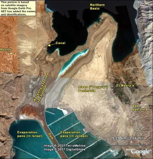 Dead Sea is a marvelous pantry of sea minerals and salts is the lowest point of the planet has depth of 377 meters.