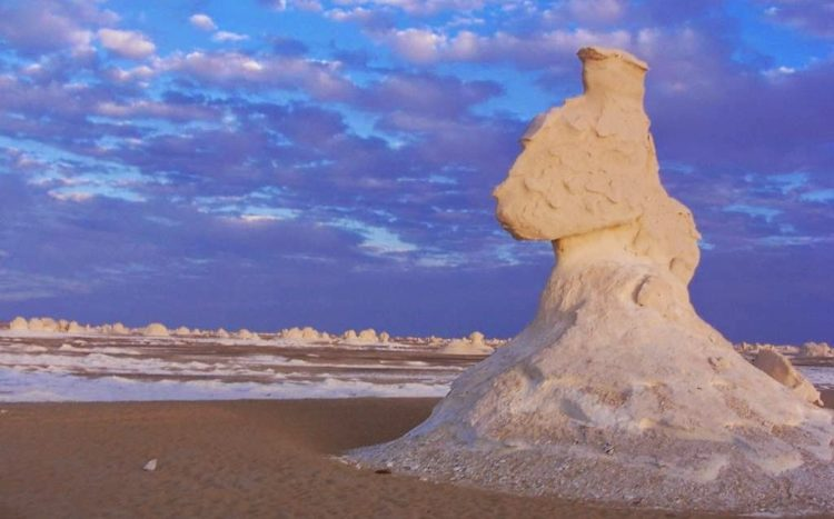 """Perhaps the most characteristic of these unusual natural formations is the famed """"chicken and tree"""" set, also called """"chicken and mushroom,"""" or, better yet, """"chicken and atomic bomb."""""""
