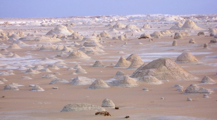 Only in The White Desert will you encounter such a inexplicable and breathtaking natural museum of chalk-rock.