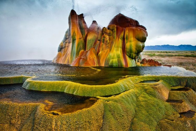Nevertheless, the truth is that Fly Geyser is located just inside a private ranch Fly Ranch in Hualapai Flat, owned by Todd Jaksick.
