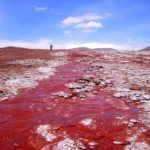 The Strange Red Lagoon of Chile