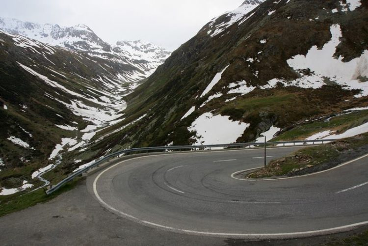 The Stelvio Pass was actually built in 1820-1825 by the Austrians and has since changed very little.