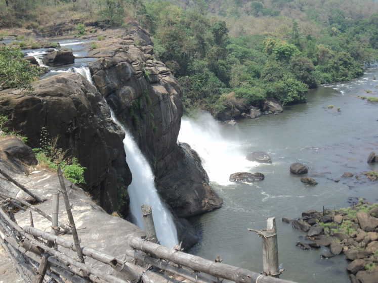 During monsoon, the trek turns slippery and is filled with little frogs jumping here and there. Visitors walk around 15 minutes and you can hear the massive sound of the falls, see the river flowing past huge rocks and trees.