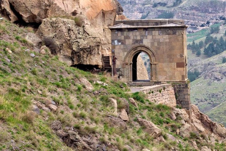 What better an idea, then, for their fabled Queen to have her monastery carved from solid rock?
