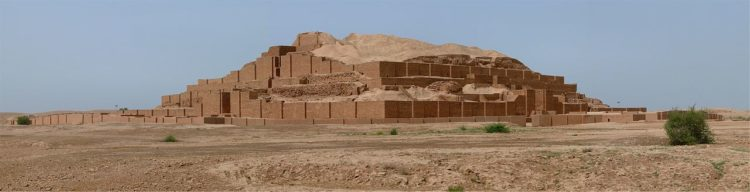 The ziggurat is arguably the most distinct architectural feature of the Mesopotamian civilization.