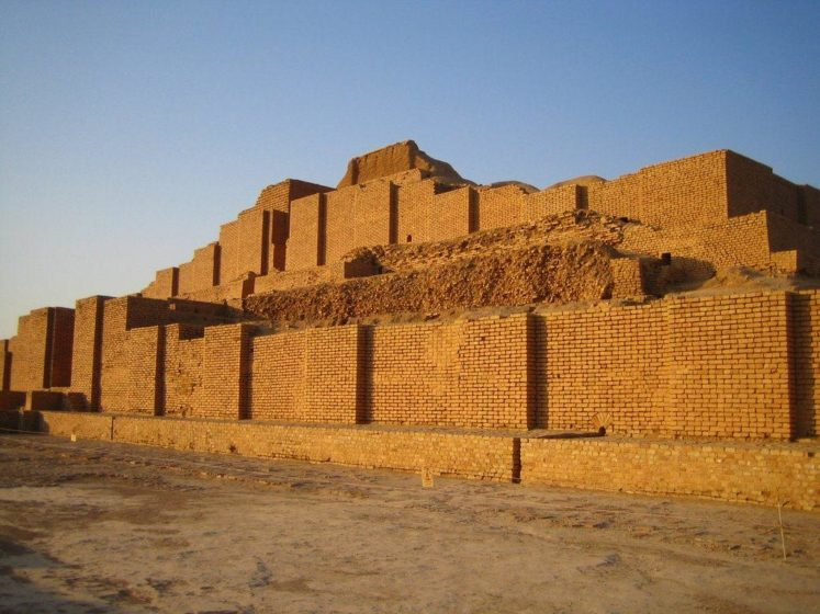 """The ziggurat is considered to be the best preserved example of the stepped pyramidal monument by UNESCO. In 1979, Chogha Zanbil means """"basket mound"""" became the first Iranian site to be inscribed on the UNESCO World Heritage List."""