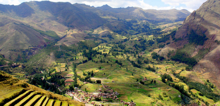 The sacred valley is famous among tourists due to scenic and historical archaeological site. Every year, more than one million tourist visited sacred valley.