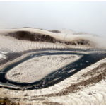 Ansoo Lake Shape Resembles to Teardrop of Human Eye
