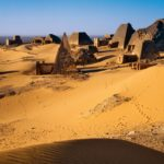 The Nubian Pyramids of Menroe, Sudan