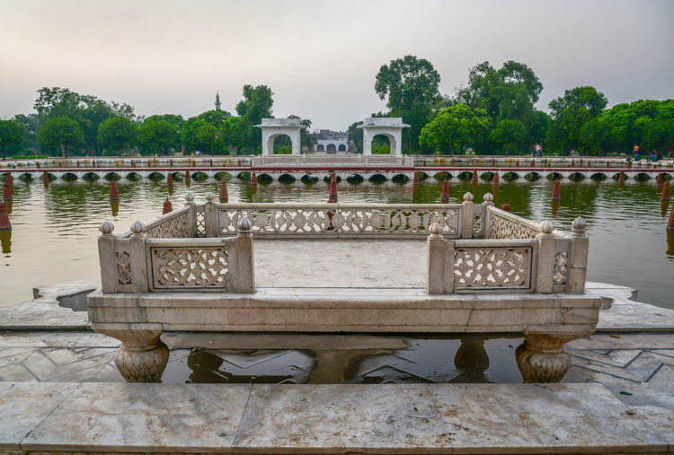 In 1981, Shalimar Gardens was included as a UNESCO World Heritage Site along with the Lahore Fort,