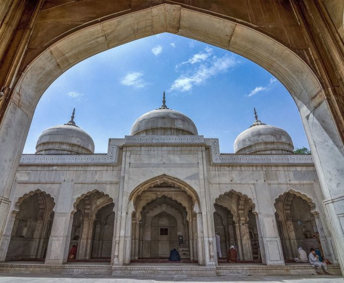 Lahore's Moti Masjid is earliest of three Mughal Pearl Mosques. The two others are the one in Agra and the other in Delhi.