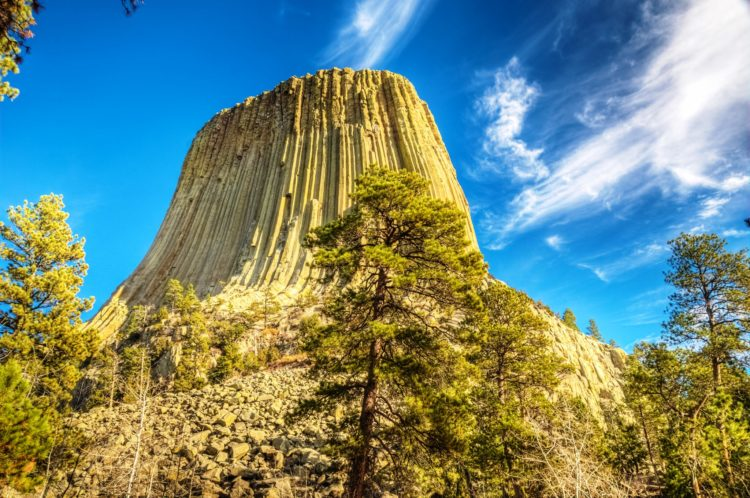 Other ideas have suggested that Devils Tower is a volcanic plug or that it is the neck of an extinct volcano.