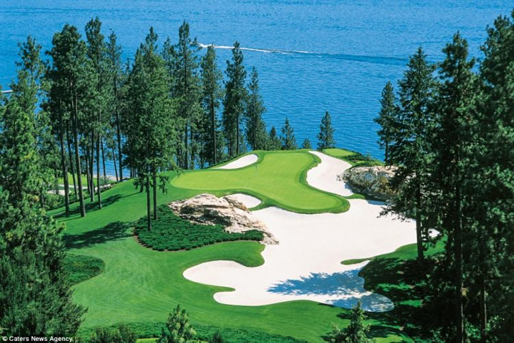 The 18 hole championship layout is lined with red geraniums and other colourful plants and is annually ranked among the most well manicured golf courses in the world