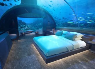 Guests at the Conrad Maldives Rangali Island will soon have the chance to sleep with the fishes