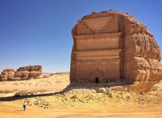 "The ""lonely castle,"" and other surrounding monuments, have relished renewed fame after UNESCO proclaimed Mada'in Saleh a site of patrimony becoming Saudi Arabia's first World Heritage Site in 2008."