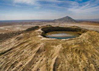 According to some claims, Chandragup mud volcano in Jhal Jhao tehsil of Balochistan is the largest and highest volcano in the world.
