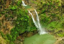 Sajikot waterfall is one of the most good-looking but rarely visited waterfalls in that region.
