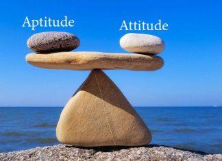 Aptitude and Attitude