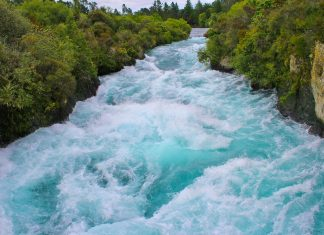 This unbelievable sight is the most-visited natural attraction in New Zealand.