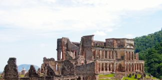 Sans-Souci palace is one of most important of nine palaces built by King.