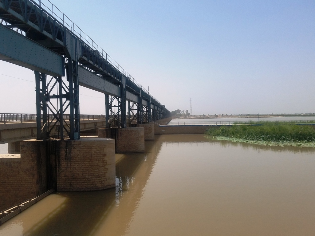 The rehabilitation project consist of three new spillways would be built at the headwork's, in addition construction of another road for the vehicular traffic.