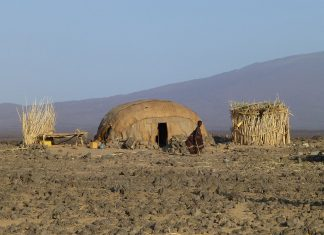 On the planet earth, there are only few places where temperatures pass 50 °C. Ethiopian Danakil Desert is one of them, which is famous for its volcanoes and extreme heat.