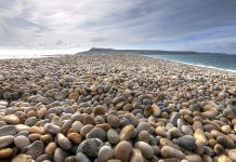 Shingle Beach is unique as referred to pebble beach or rocky beach. This beach is armoured with beautiful pebbles and medium sized cobbles.