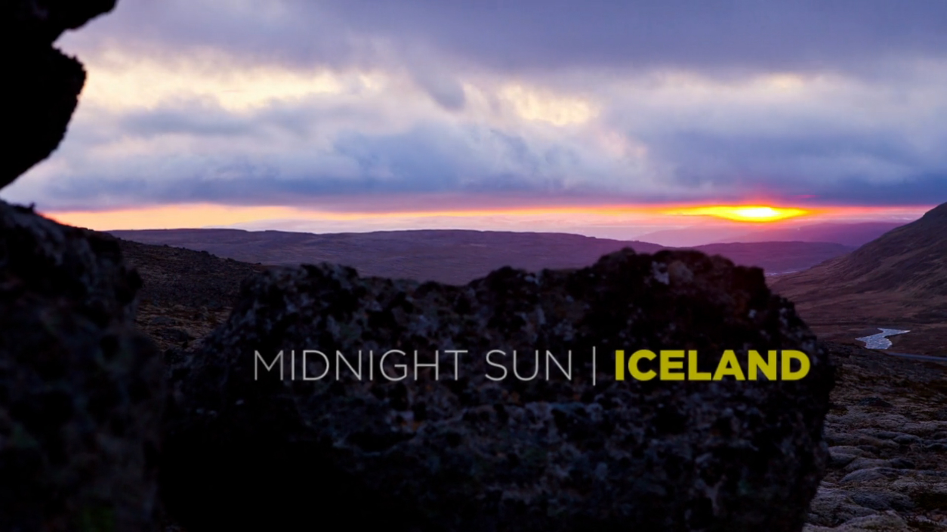 Midnight Sun is a natural phenomenon occurring in the summer months where the sun never fully sets and remains visible 24 hours a day.