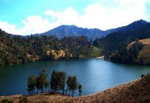Ranu Kumbolo Lake Indonesia